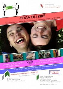 Yoga du Rire 2017 recto